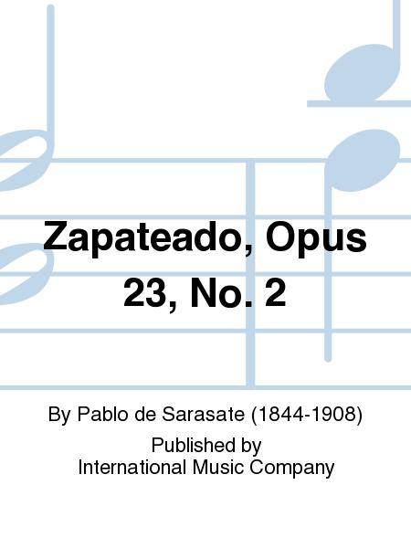 Zapateado, Opus 23, No. 2