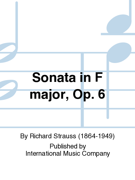 Sonata in F major, Op. 6