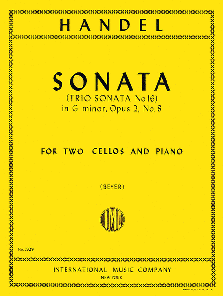 Sonata in G minor, Op. 2 No. 8