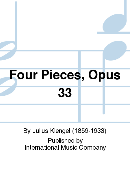 Four Pieces, Opus 33