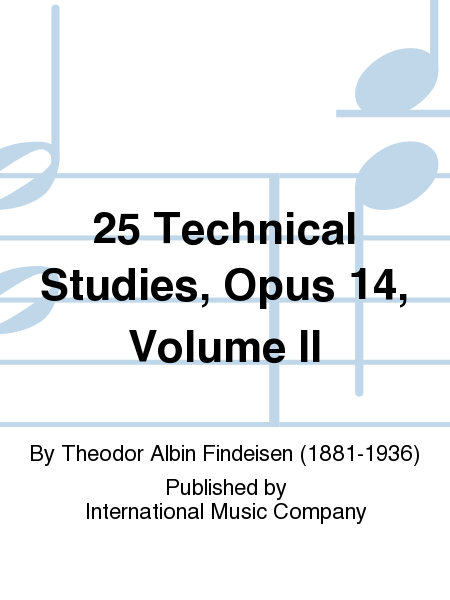 25 Technical Studies, Opus 14, Volume II