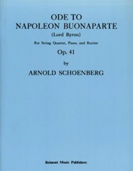 Ode to Napoleon, Op. 41