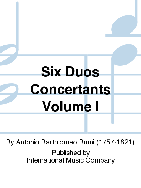 Six Duos Concertants Volume I