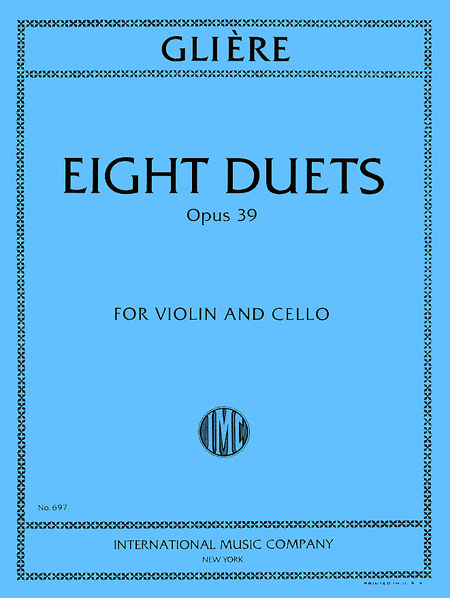 Eight Duets, Opus 39