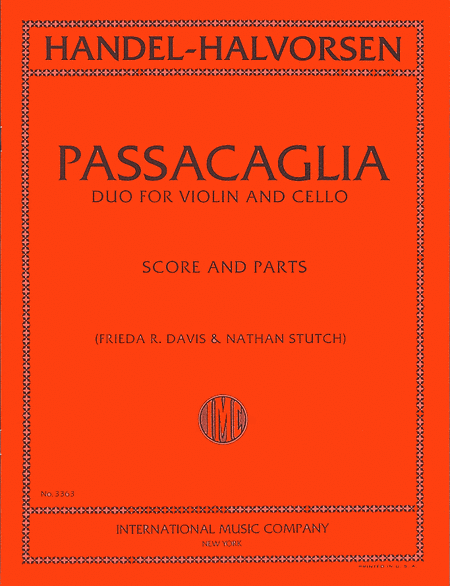 Passacaglia - Duo for Violin and Cello (score & parts)