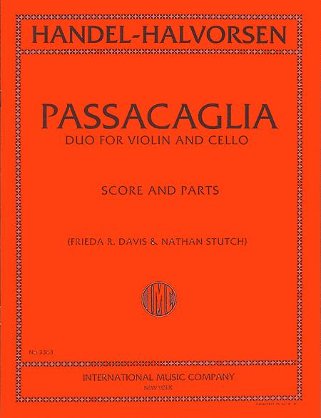Passacaglia - Duo for Violin and Cello (score & parts)