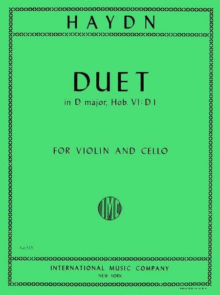 Duet in D major
