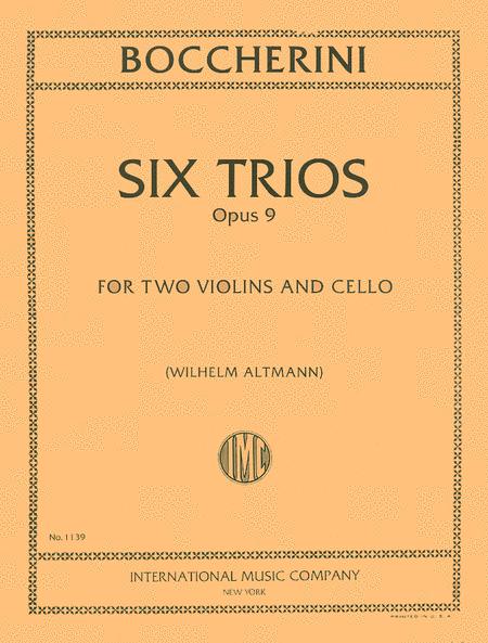 Six Trios, Opus 9