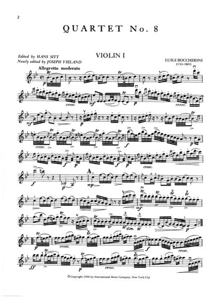 Quartet No. 8 in B flat major