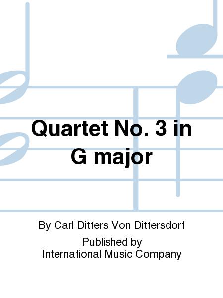 Quartet No. 3 in G major