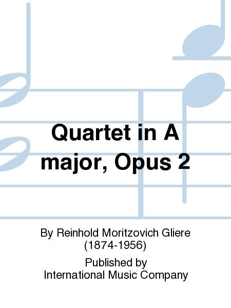 Quartet in A major, Opus 2