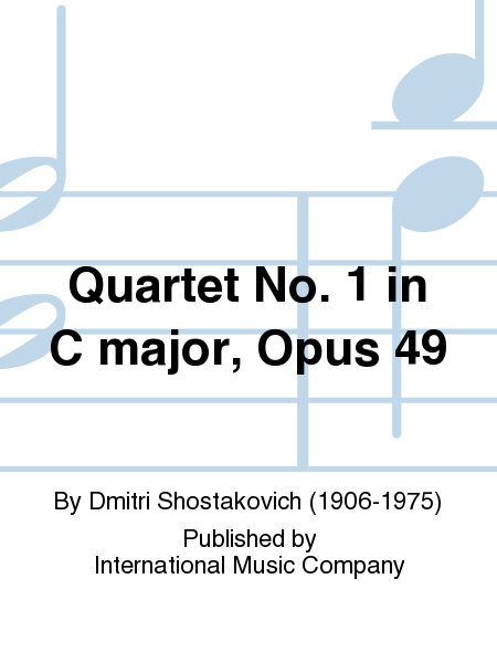 Quartet No. 1 in C major, Opus 49
