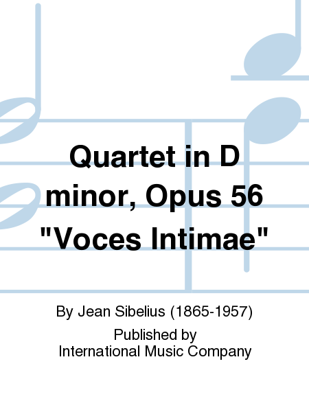 Quartet in D minor, Opus 56