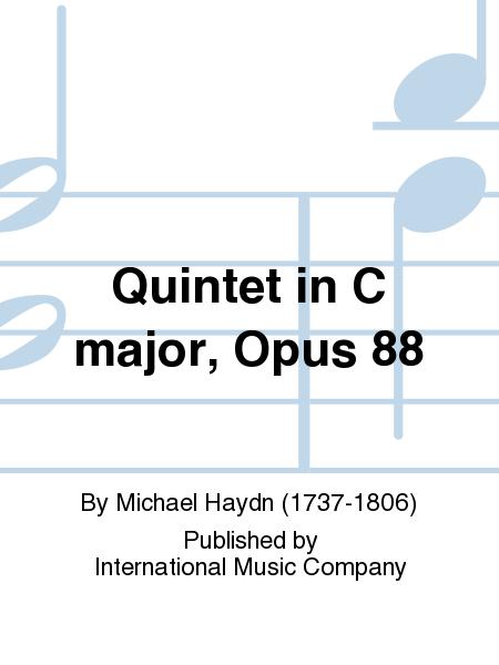 Quintet in C major, Opus 88