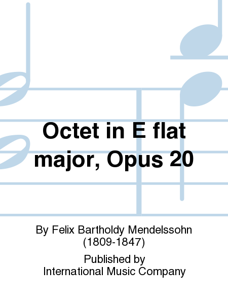 Octet in E flat major, Opus 20