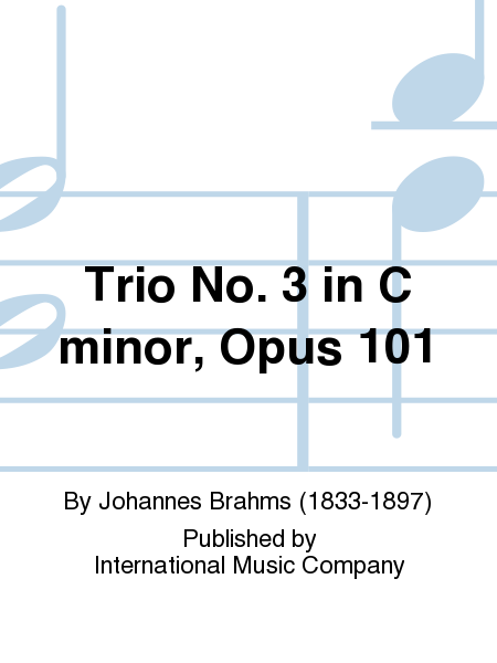 Trio No. 3 in C minor, Opus 101