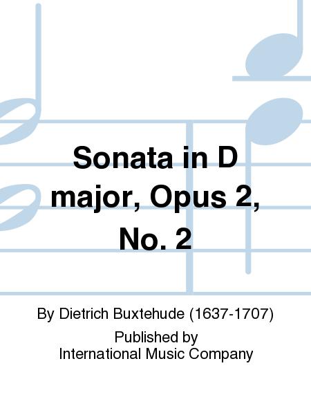 Sonata in D major, Opus 2, No. 2