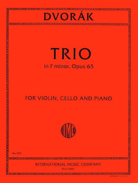 Trio in F minor, Opus 65