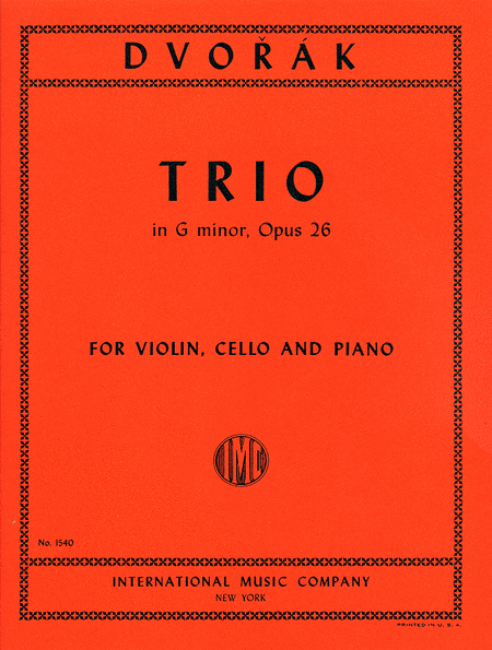 Trio in G minor, Opus 26