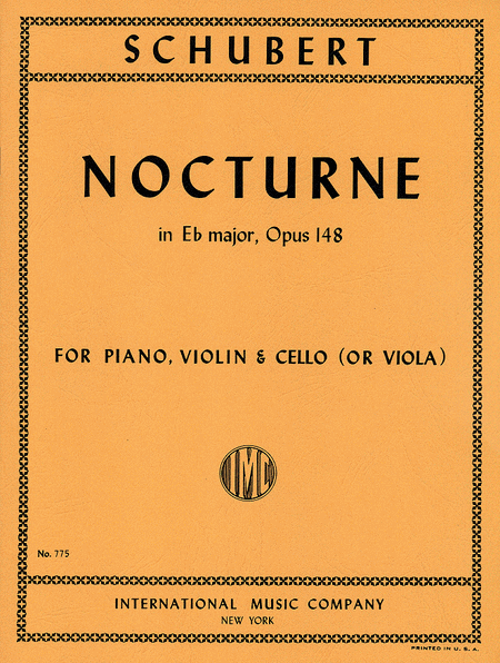 Nocturne in E flat major, Opus 148