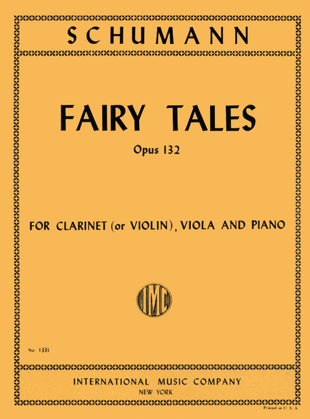 Fairy Tales, Op. 132 for Clarinet (or Violin), Viola & Piano