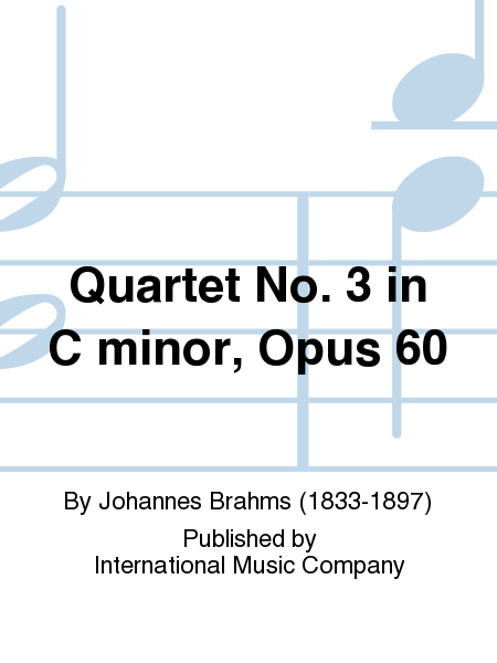 Quartet No. 3 in C minor, Opus 60