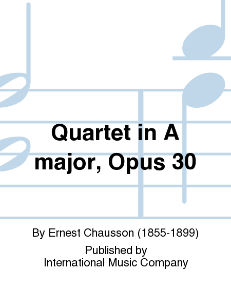Quartet in A major, Opus 30