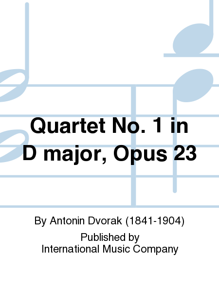 Quartet No. 1 in D major, Opus 23
