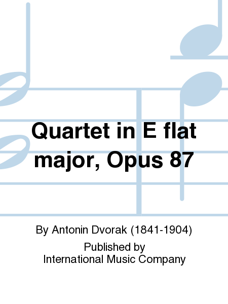Quartet in E flat major, Opus 87