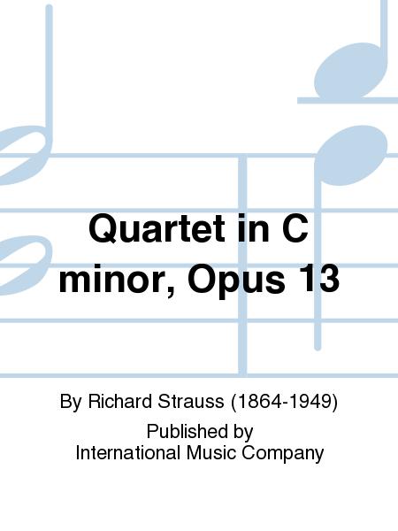Quartet in C minor, Opus 13