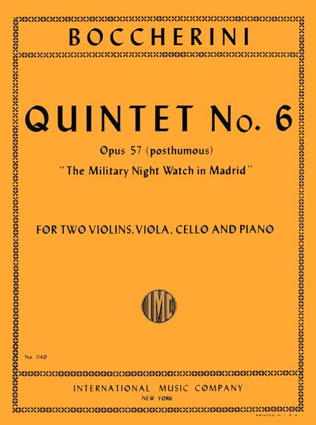 Quintet No. 6, Opus 57 (Op. posth.)