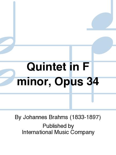 Quintet in F minor, Opus 34