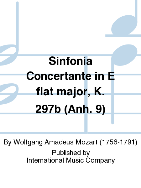 Sinfonia Concertante in E flat major, K. 297b (Anh. 9)