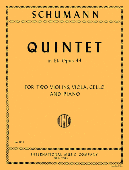 Quintet in E flat major, Opus 44