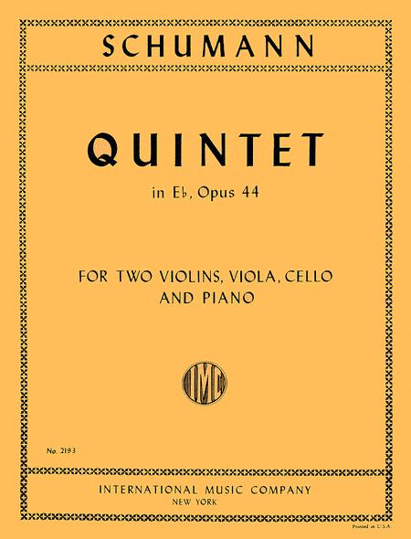 Quintet in E flat major, Opus 44