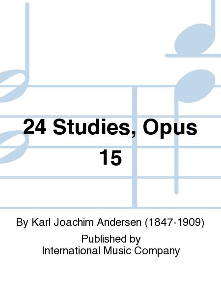 24 Studies, Opus 15