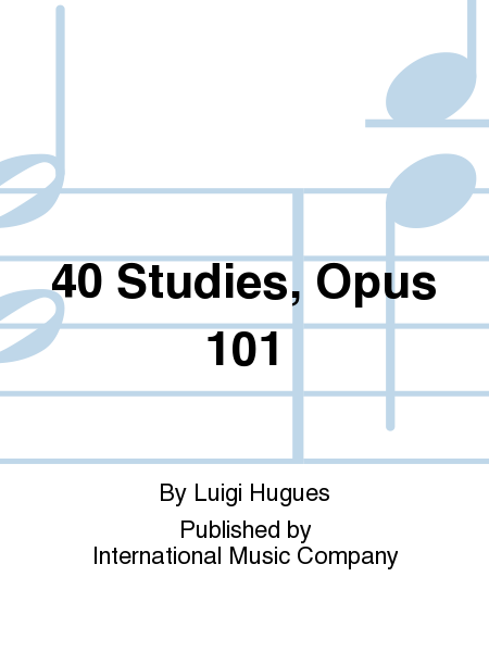 40 Studies, Opus 101
