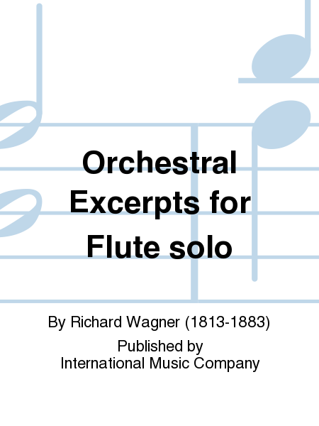 Orchestral Excerpts for Flute solo