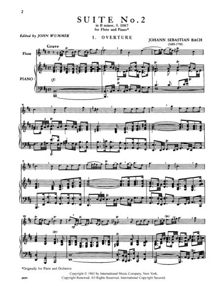 Suite No. 2 in B minor, S. 1067