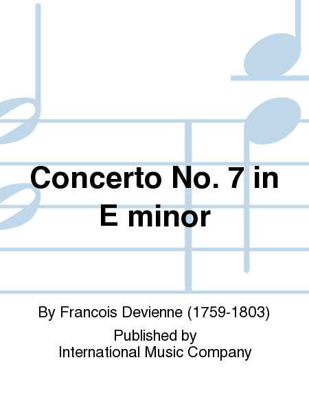 Concerto No. 7 in E minor