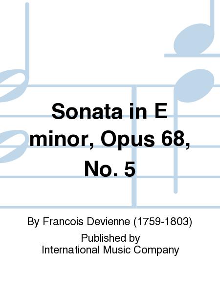 Sonata in E minor, Opus 68, No. 5