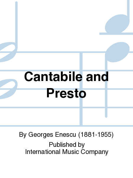 Cantabile and Presto