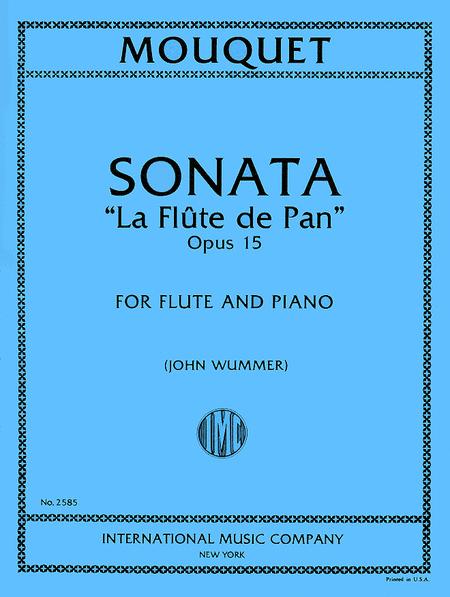 Sonata 'La Flote de Pan', Op. 15