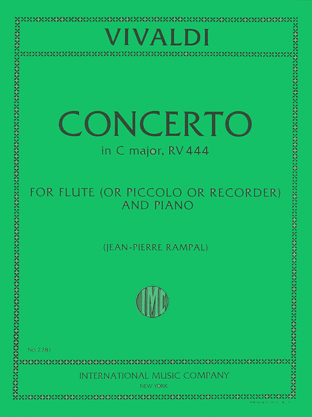 Concerto in C major, RV 444, Piccolo (Recorder)