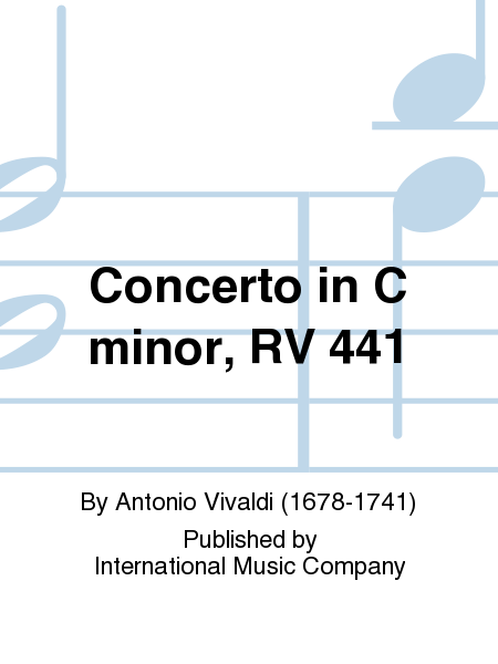 Concerto in C minor, RV 441