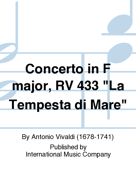 Concerto in F major, RV 433