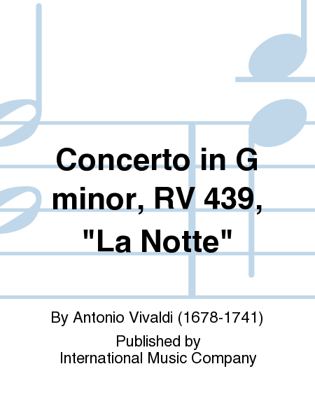 Concerto in G minor, RV 439,