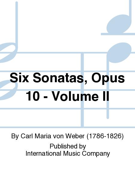 Six Sonatas, Opus 10 - Volume II