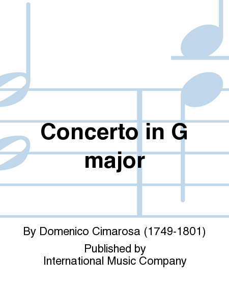 Concerto in G major