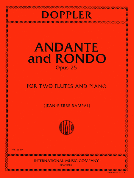 Andante and Rondo in C major, Opus 25